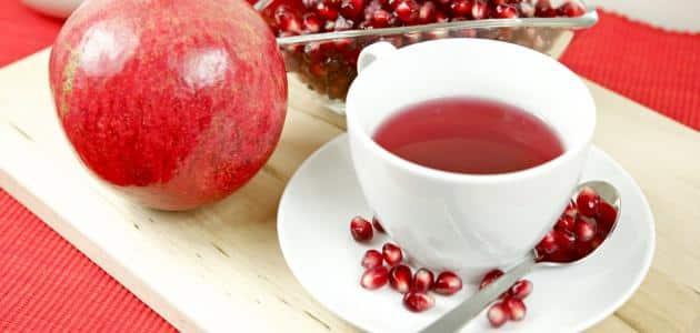 منها الحفاظ على صحة القلب.. فوائد شاي الرمان