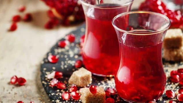 شاي الرمان وفوائد فوق الخيال
