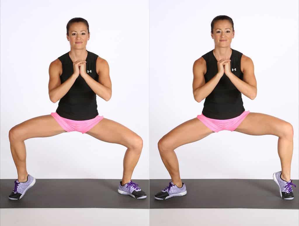 6 تمرينات المثالية من أجل تخسيس الساقين والجزء السفلي من الجسم