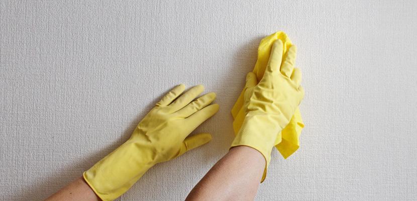 بالخل.. نظفي جدران منزلك من أصعب البقع!
