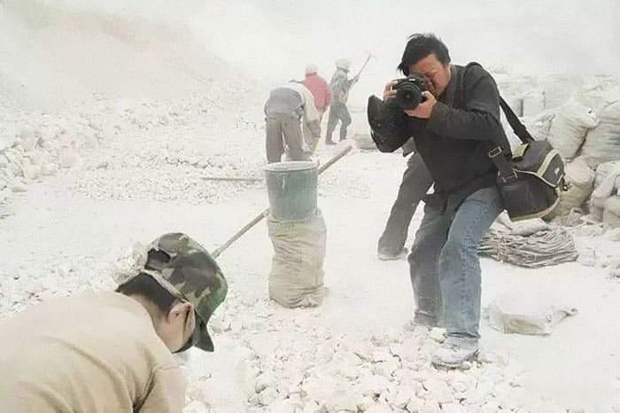 إختفاء المصور الصيني لو غوانغ في ظروف غامضة بسبب صوره التي أغضبت حكومة بلاده