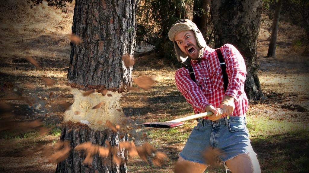 علاقة عجيبة بين تقطيع الأخشاب وهرمون الذكورة لدى الرجال