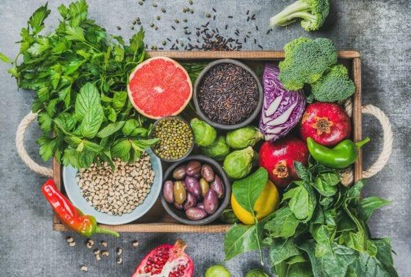 هشاشة العظام الفواكه والخضروات الغير عضوية