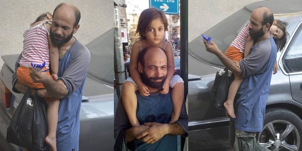بفضل صورة.. كيف تغيرت حياة لاجئ سوري حزين ليصبح رجل أعمال سعيد؟