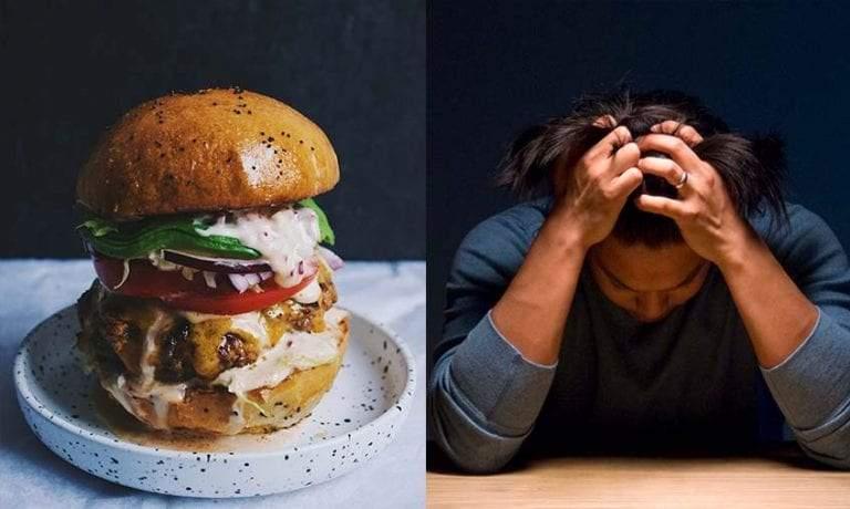 الطعام والاكتئاب.. عندما تؤدي الوجبات الغذائية إلى الإصابة بالأمراض النفسية