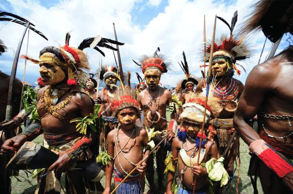 بدايات بابوا غينيا الجديدة