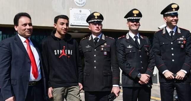 رامي شحاتة .. المراهق المصري الذي صار رمزا للبطولة في إيطاليا