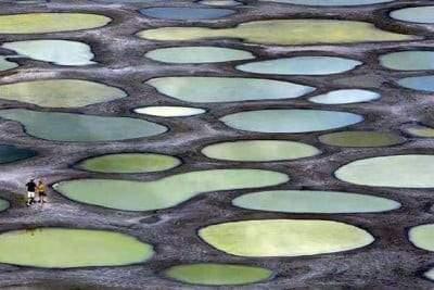 البحيرة المرقطة