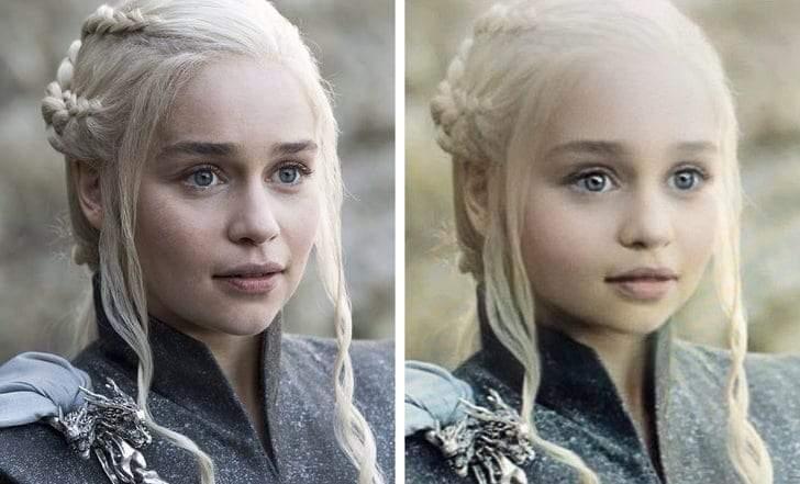 صور طريفة.. شخصيات Game of Thrones في سن الطفولة