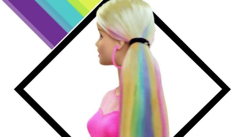 اصنع بنفسك.. شعر باربي بألوان مختلفة وأزياء من الأكياس والبالون
