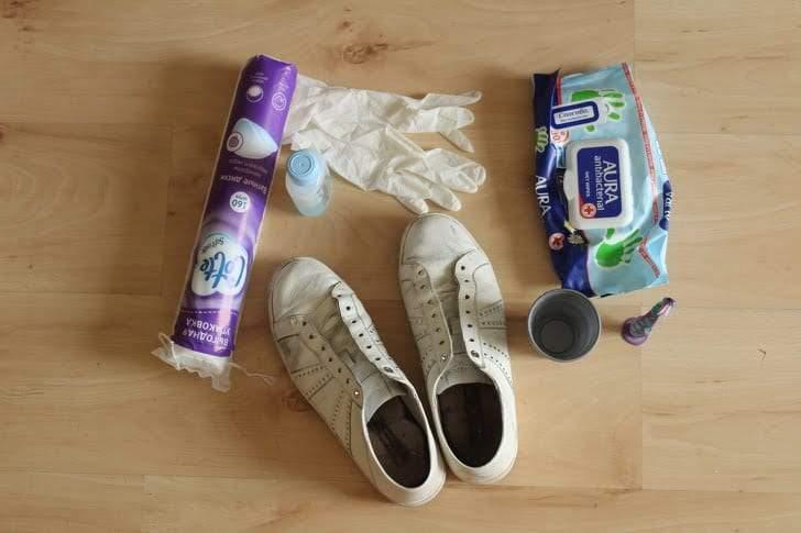 حيل مثالية تحول الحذاء القديم إلى جديد