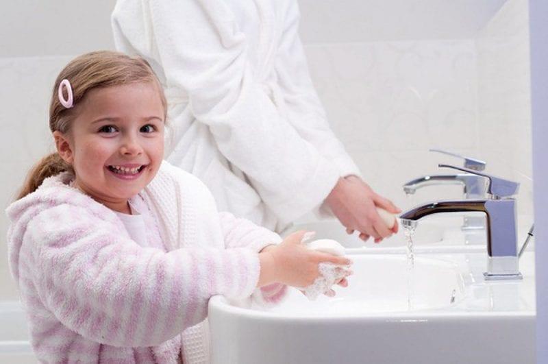 خطوات المحافظة على النظافة الشخصية للأطفال 1