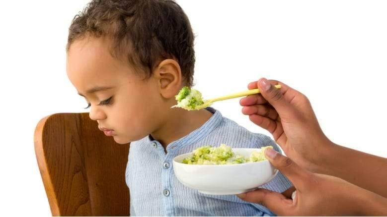 علاج مشكلة رفض الطعام عند الأطفال 2