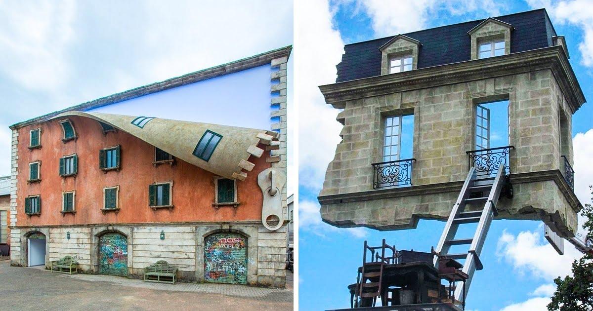 صور خيالية.. عندما يتحول فن المعمار إلى إبداع