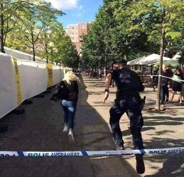 حقيقة ترفيه الشرطة السويدية عن المواطنين بسبب اختفاء الجرائم