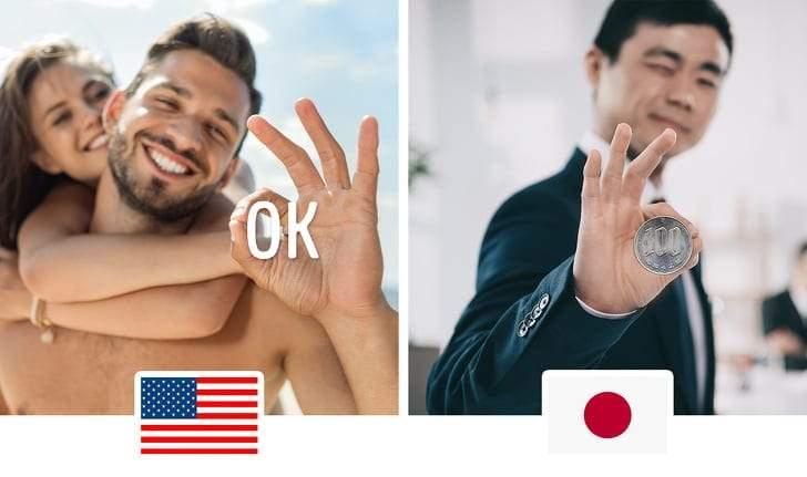 يختلف فهمها بحسب الدول.. 10 إشارات باليد يحذر استخدامها