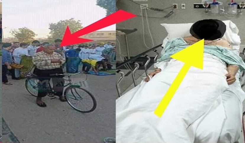 وفاة صاحب واقعة الصلاة على الدراجة في العيد.. حقيقة أم كذب؟
