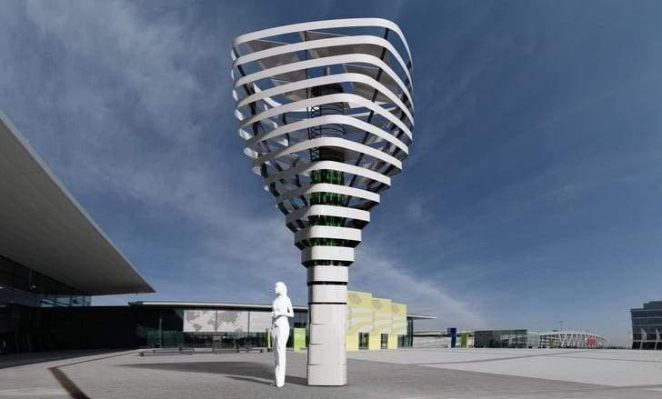 أبراج BioUrban.. الأشجار الصناعية التي حولت الهواء الملوث لأكسجين نقي