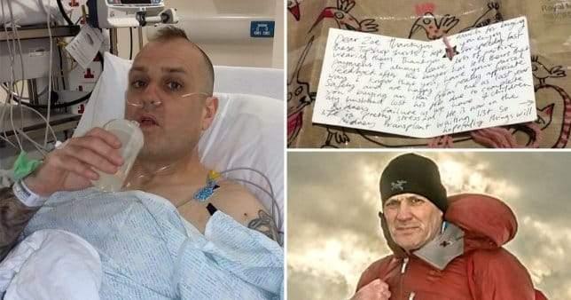 رجل يتبرع بكليته والسبب رسالة مفاجئة