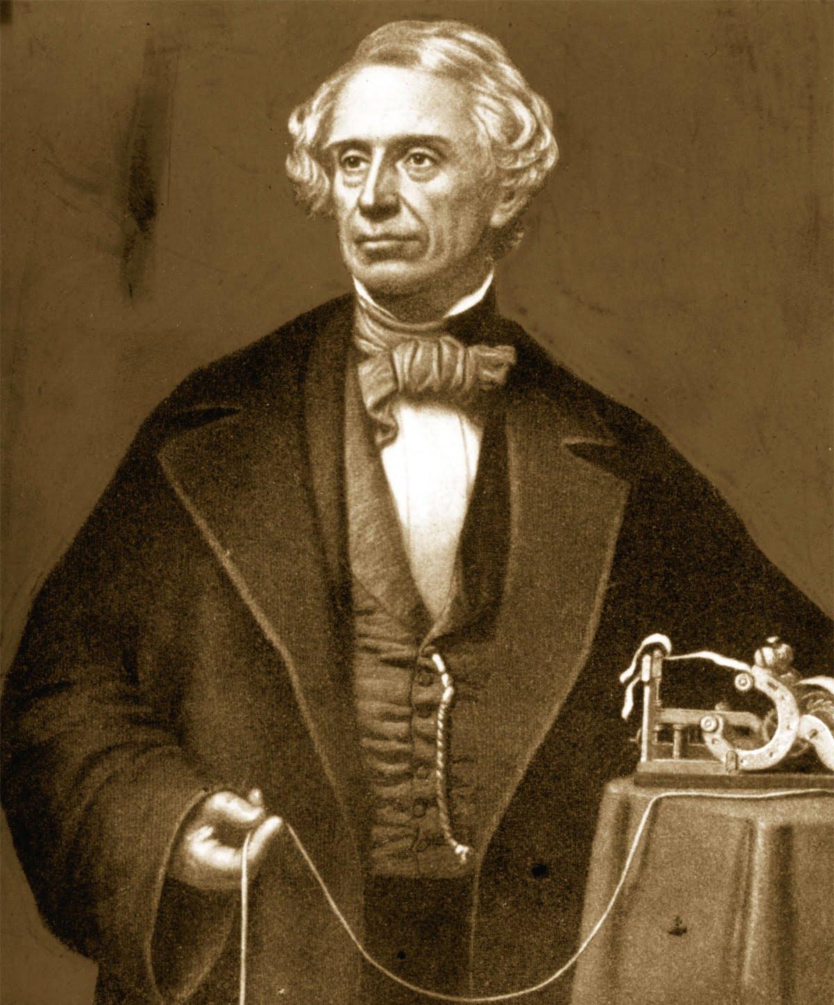 صامويل مورس.. الفنان الذي فقد زوجته فنجح في اختراع التلغراف