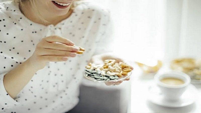 المكسرات هي الحل لفقدان الوزن