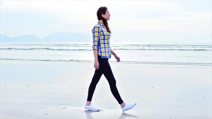 العلاقة بين بطء وسرعة المشي والتقدم في العمر