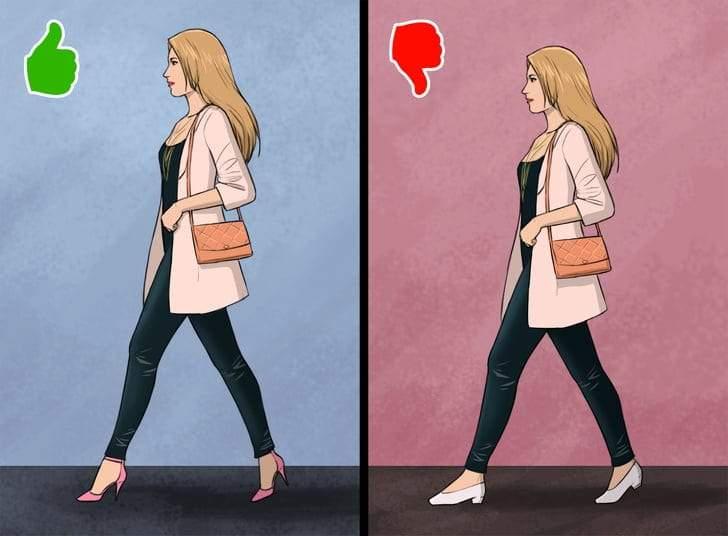 نصائح للمرأة من أجل اختيار الحذاء المناسب