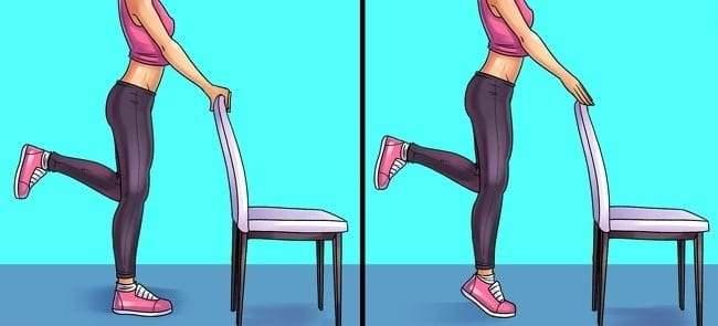 تمارين رياضية لتخفيف آلام الركبة والقدم